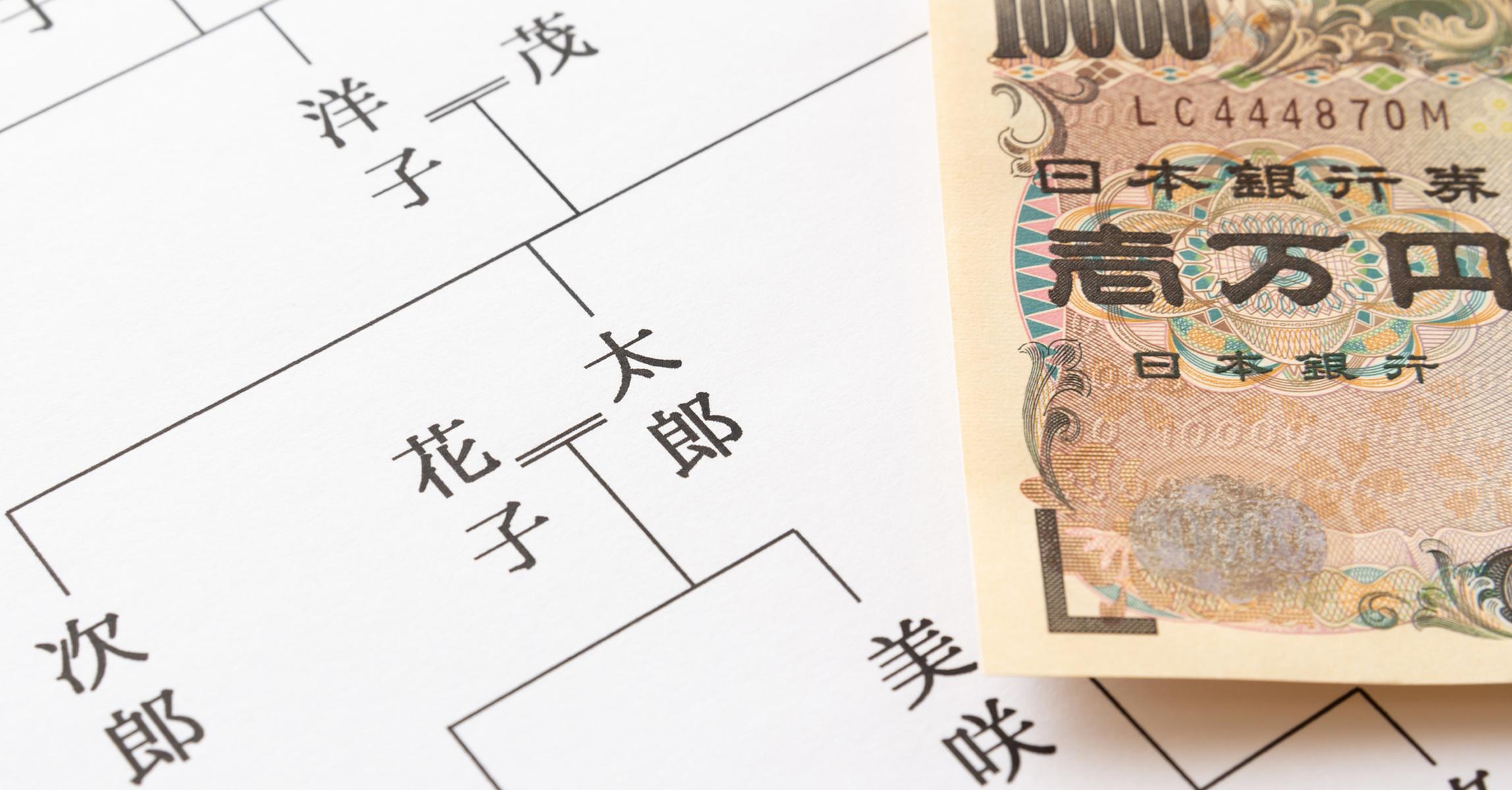 法定相続情報一覧図の作成:¥40,000~